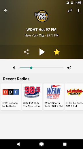 Radio FM USA 6.1 screenshots 2