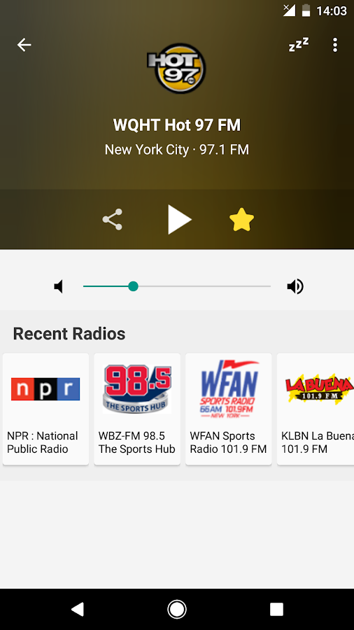 Radio FM USA- screenshot