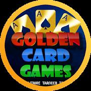 Golden Card Games (Tarneeb - Trix - Solitaire)