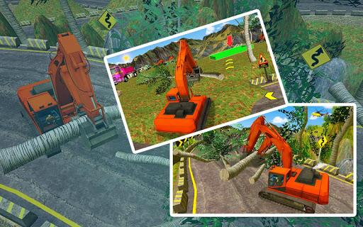 Code Triche lourd excavatrice simulateur 2020: 3d excavatrice APK MOD screenshots 6