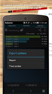 Time Tracker - Timesheet screenshot 6