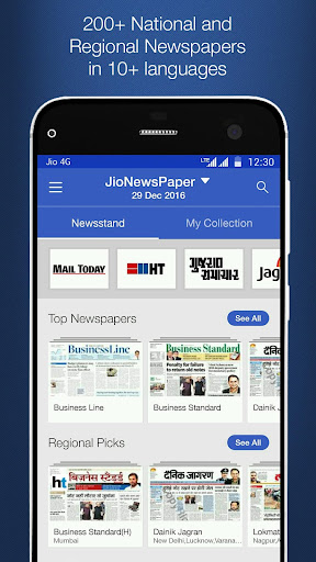 JioNewsPaper app (apk) free download for Android/PC/Windows