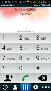 MICRO KOREA DIALER- screenshot thumbnail