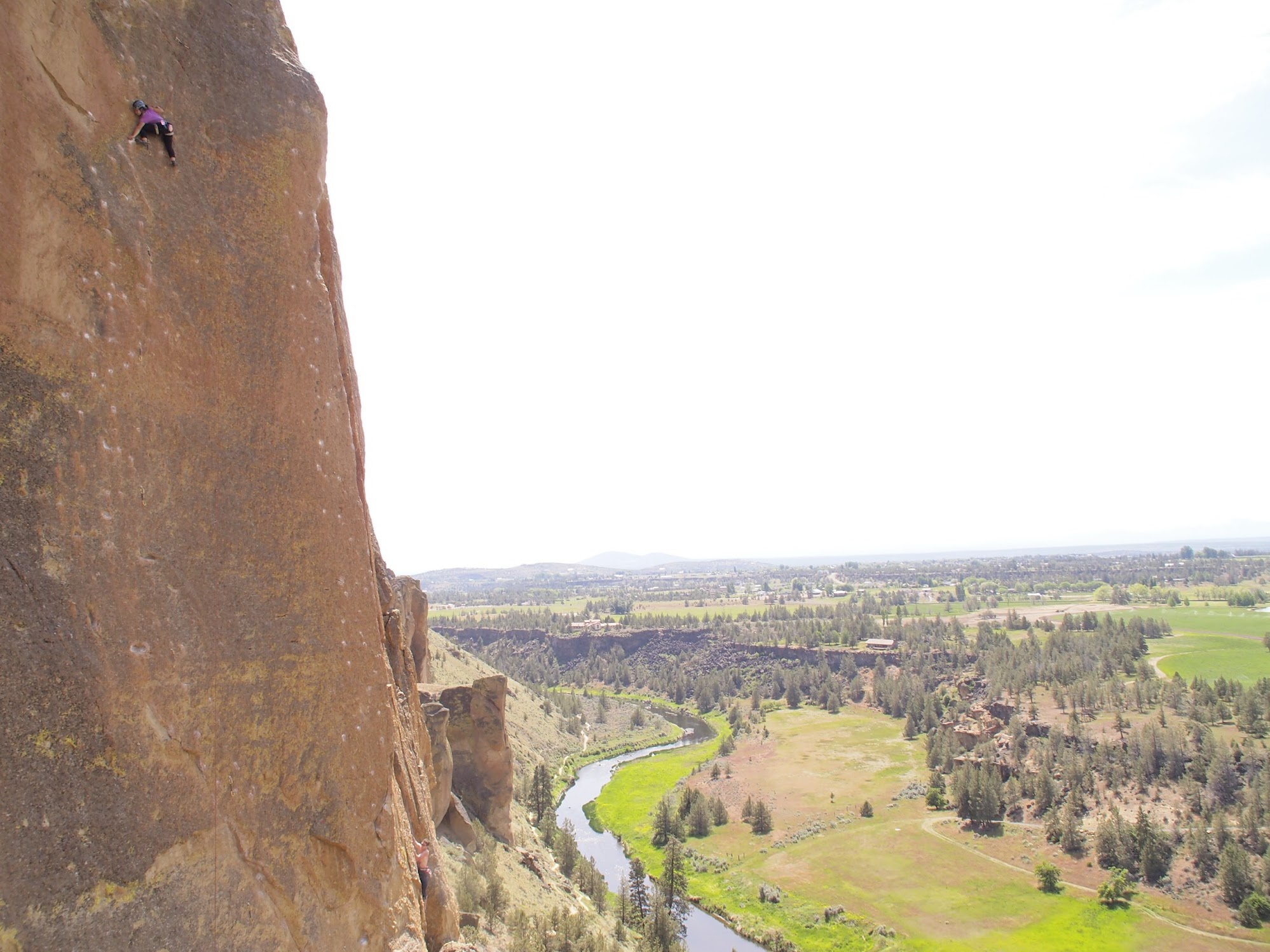 Smith Rock is one of the best sport climbing spots in the US!