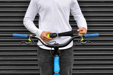 Hiplok Spin Wearable Combination Chain Lock: Neon Yellow alternate image 1