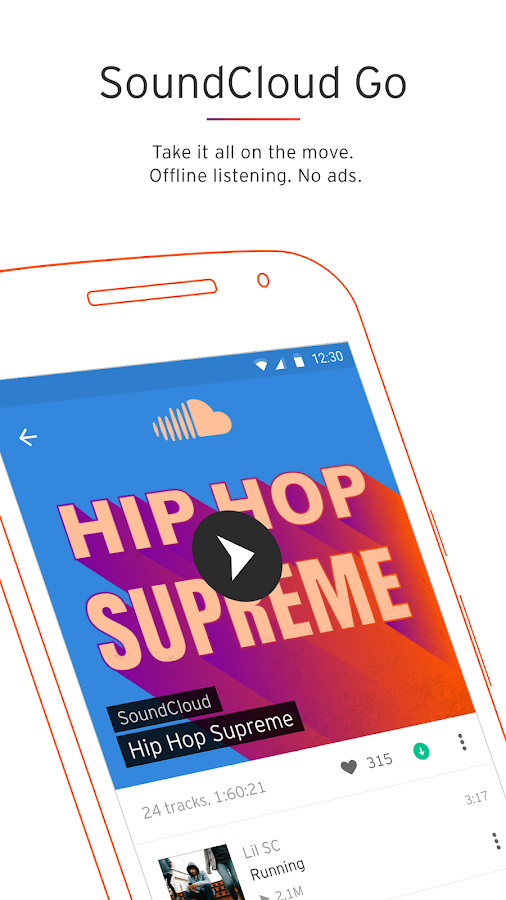 Screenshots of SoundCloud - Music & Audio for iPhone