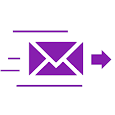 Anonymous SMS & E-mail icon