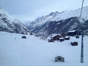 Photo: Continuing up gondola, Zermatt valley