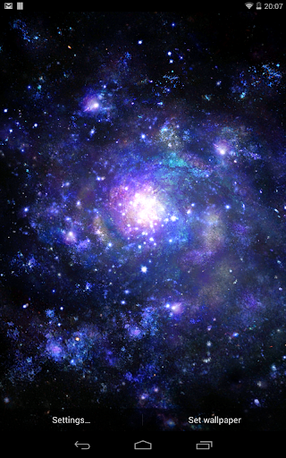 Galactic Core Live Wallpaper screenshot 3