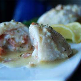 Sole Fillet with Ham and Cheese Stuffing