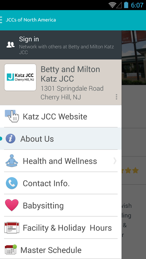 JCC's of North America- screenshot