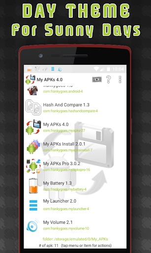 My APKs - backup restore share manage apps apk 4.2 screenshots 2