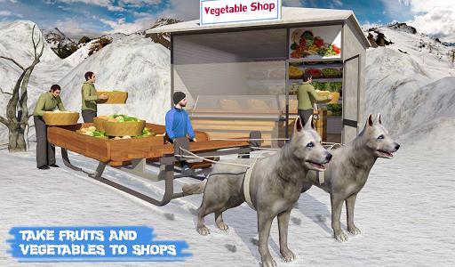 Snow Dog Sledding Transport Games: Winter Sports 1.4 screenshots 13