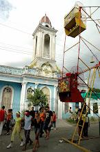 Photo: carnival ride, santiago de cuba. Tracey Eaton photo.