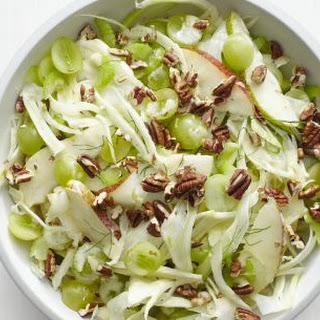 Fennel-Pear Salad with Grapes and Pecans