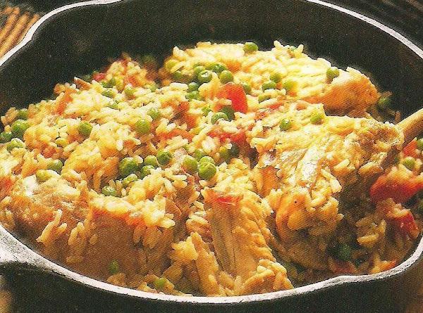 Chicken With Rice (arroz Con Pollo) Recipe