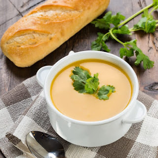 Slow Cooker Thai Curried Butternut Squash Soup.