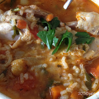 Homemade Chicken Soup- Mexican Style- Caldo de Pollo