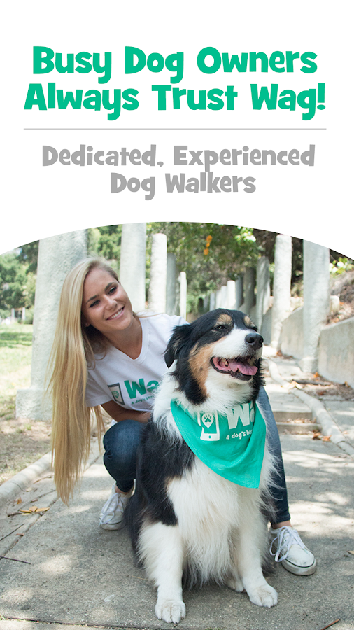 Wag! - Instant Dog Walkers & Sitters- screenshot
