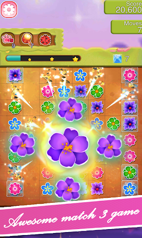 android Blossom Blast Paradise Fever Screenshot 2