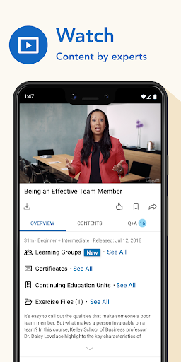 LinkedIn Learning: Online Courses to Learn Skills 0.141.1 Screenshots 2