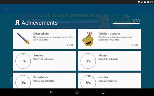 Tute Subastado 1.3.0 screenshots 22