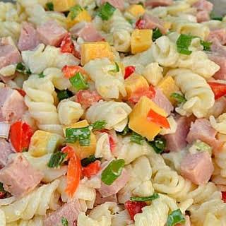 Ham Pasta Mayonnaise Salad Recipes.