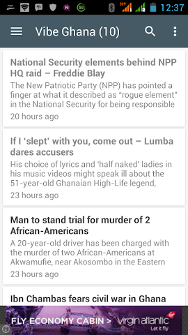 android Ghana News Lite App Screenshot 11