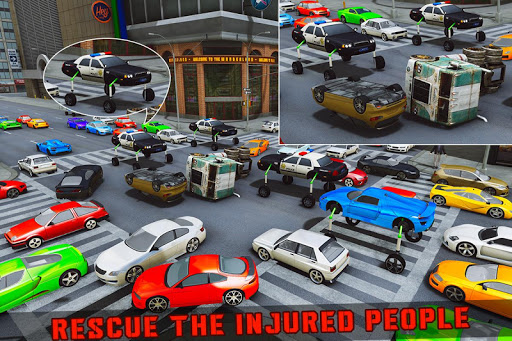 Elevated Car Racing Speed Driving Parking Game screenshot 5