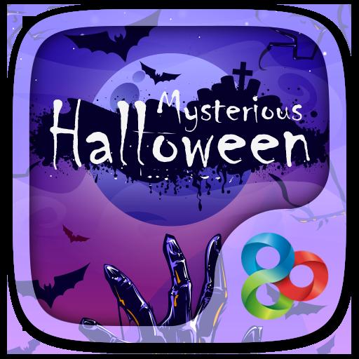 Mysterious Halloween GO Launcher Theme