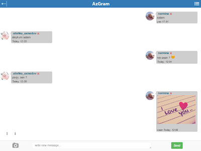 AzGram.Az - The Social Network screenshot 12