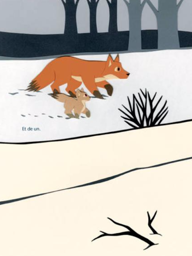 Maman Renard - Edition L'Agrume - Blog illustration jeunesse Illustre ALbert - Bookletter