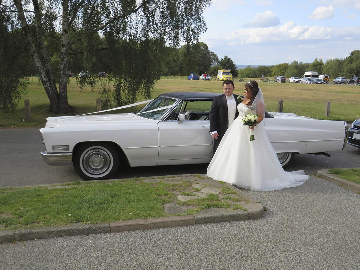 Cadillac Sedan Deville 4 Door Pillarless Hire Colchester