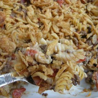 Crunchy Beef Casserole.