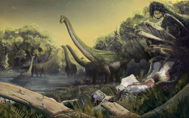 New five ton dinosaur found in Southern Africa