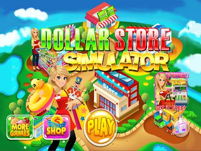 Dollar Store Cash Register Sim & Grocery Shopping - náhled