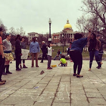 Photo: 4.14.15 Safe Hub Collective in Boston. SH is not a game. Photo credit Natasha Vianna