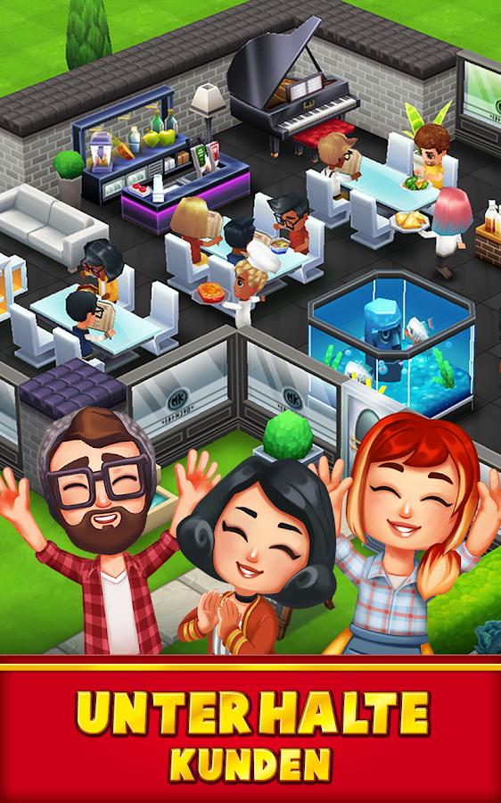 Restaurant Spiele App