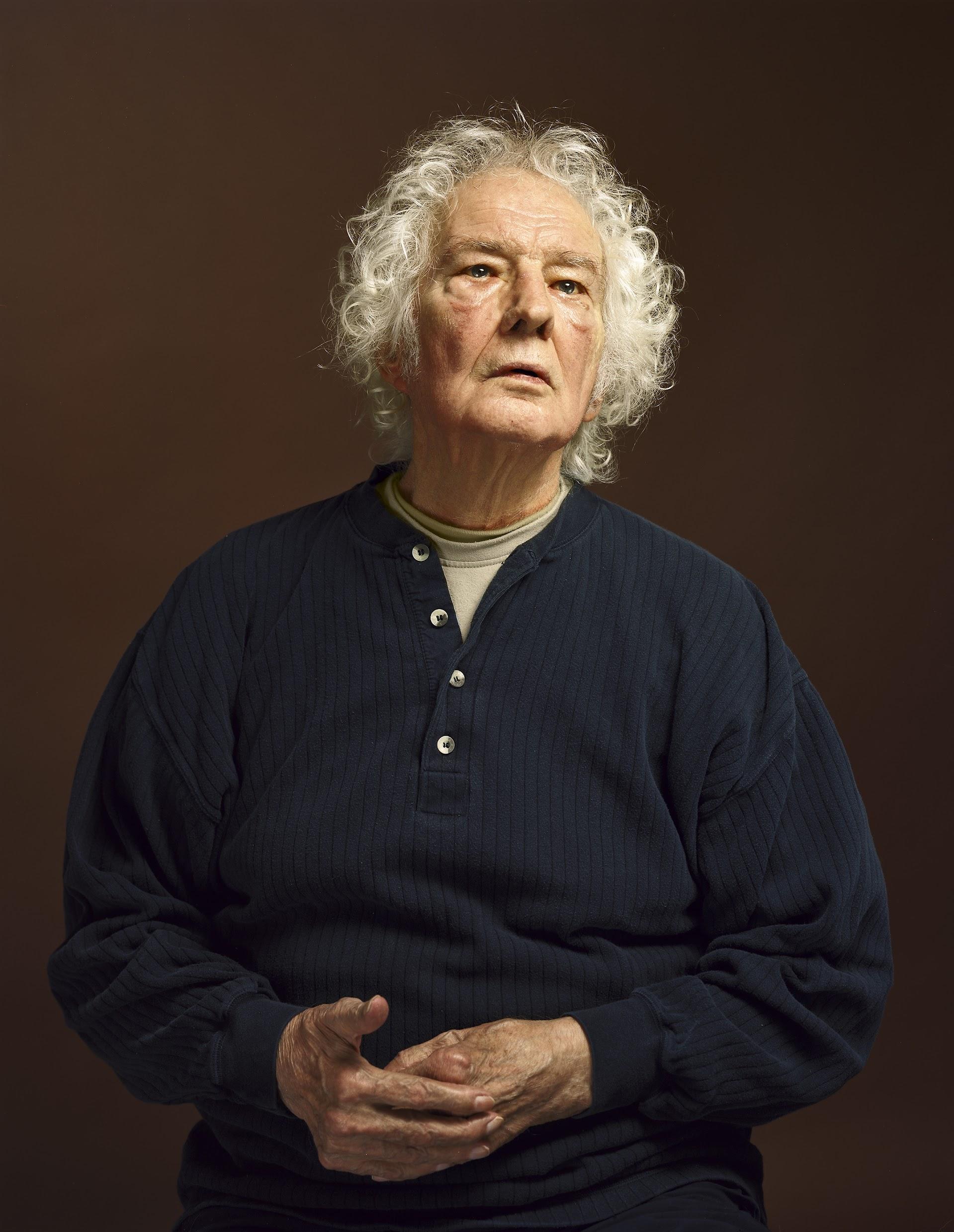 Koos Breukel, portret van Jan Wolkers (2007)
