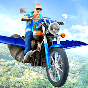 Flying Moto Bike Stunts Racing - Bike Stunt Game