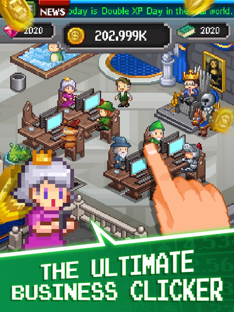 Tap Tap Trillionaire - Cash Clicker Adventure Screenshot 16
