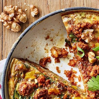 California Walnut Chorizo Fittata