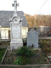 Photo: Grób fundatora świątyni - Josefa von Blunenkron.