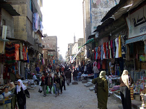 Photo: Wow, room to breathe!  The streets at Khan Al-Khalili were always more crowded than this.