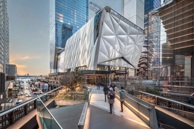 The Shed at Hudson Yards.