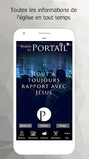 Église Le Portail - náhled