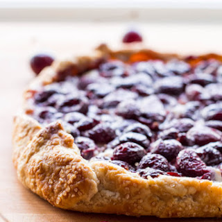 Cherry Vanilla Ricotta Crostata Recipe