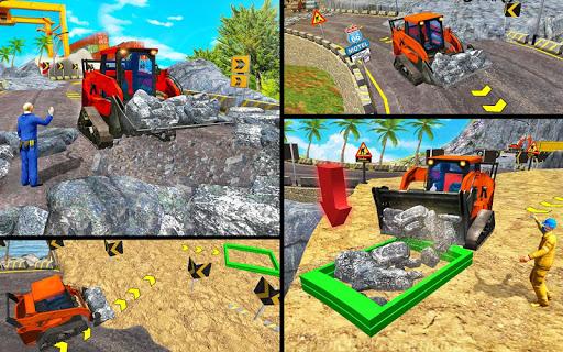 Code Triche lourd excavatrice simulateur 2020: 3d excavatrice APK MOD screenshots 5