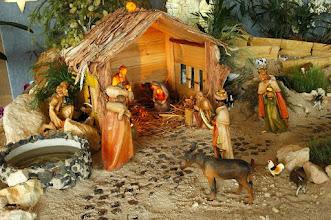 Photo: The three kings visit to Bethlehem to see Jesus