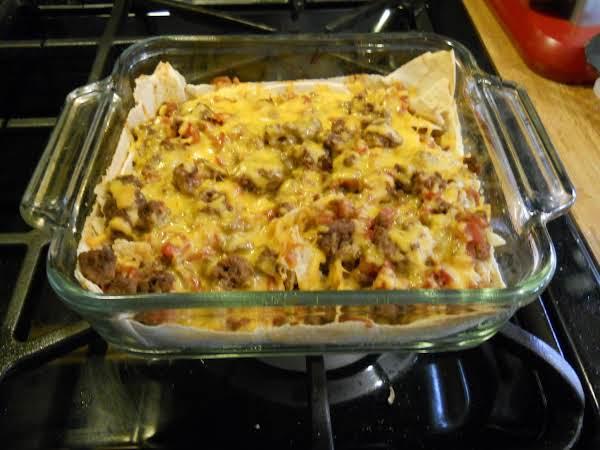 Mexican Lasgna Recipe